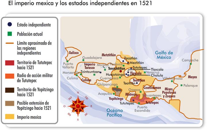Cultura tlaxcalteca mapa