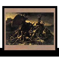 La balsa de la medusa, Théodore Géricault, 1819