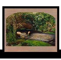 Ofelia, John Everett Millais, 1851