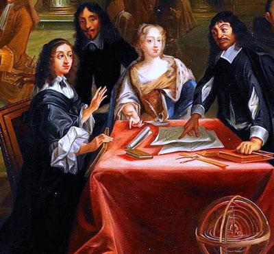 Descartes en la corte