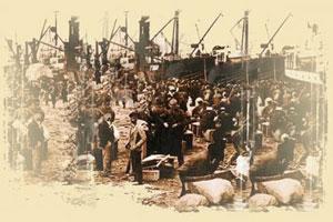 inmigrantes irlandeses