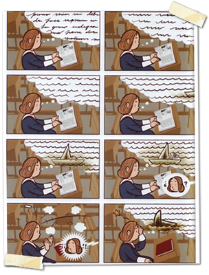 Espiral, un cómic recursivo.