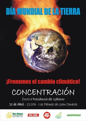 cartel dia mundial de la tierra