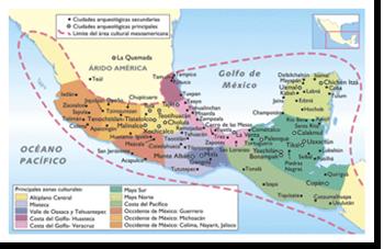 Mapa de Mesoamérica