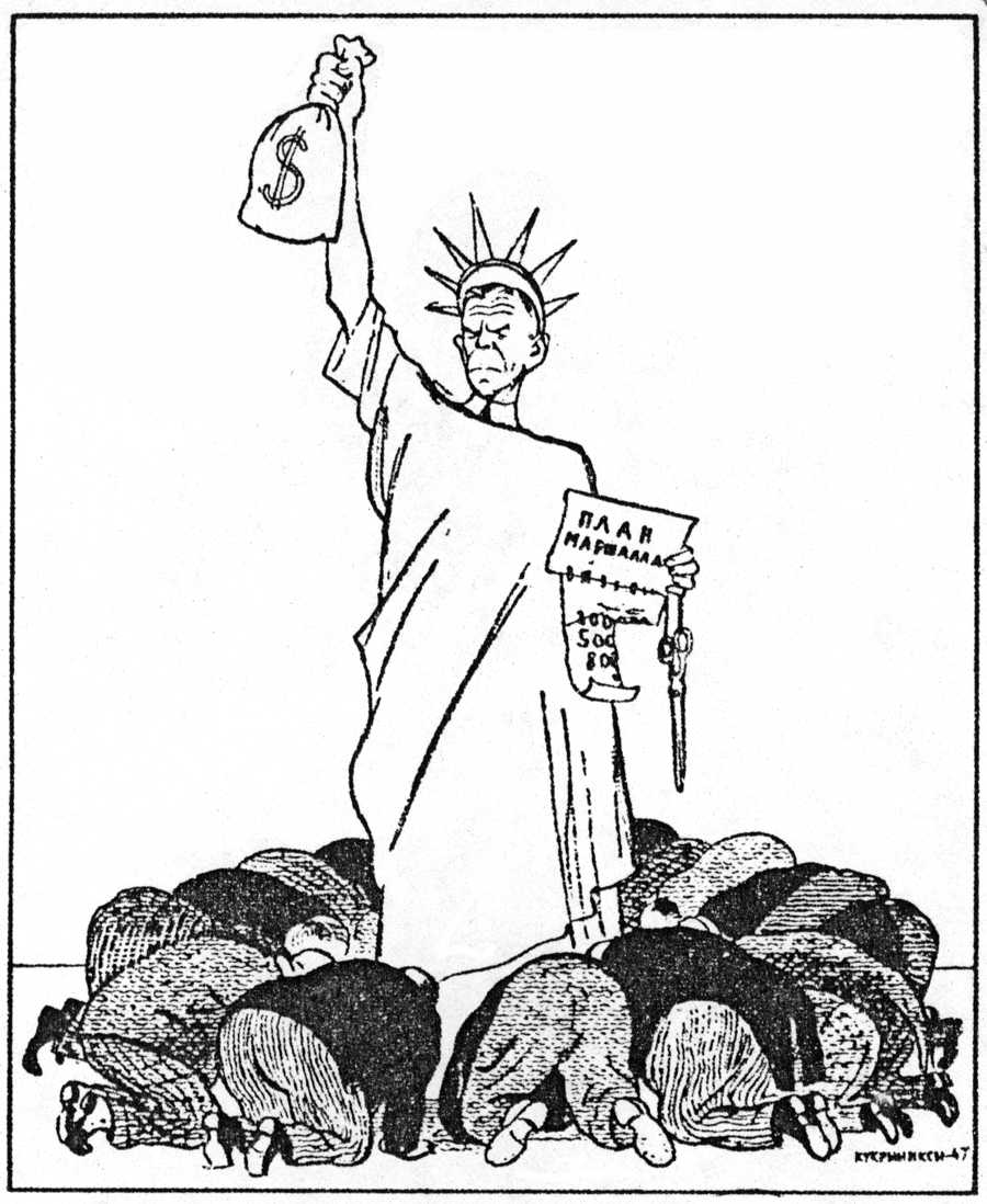 Displaying 20> Images For - Marshall Plan Cartoon 1947