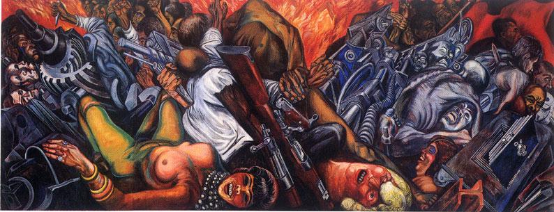 Artes1920 2 for El hombre de fuego mural de jose clemente orozco