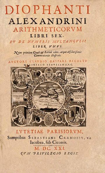 Libro de Diofanto de Alejandría