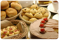 pasteles y galletas