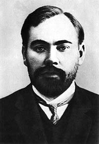 Alexander Bogdanov, médico, filósofo y escritor, jugó un papel activo en el movimiento bolchevique. Opositor en ideas a Lenin.