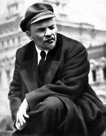"""Vladimir Ilich Ulianov """"Lenin"""". Filósofo, líder del Partido Bolchevique en Rusia y uno de los constructores de la nueva sociedad socialista rusa."""