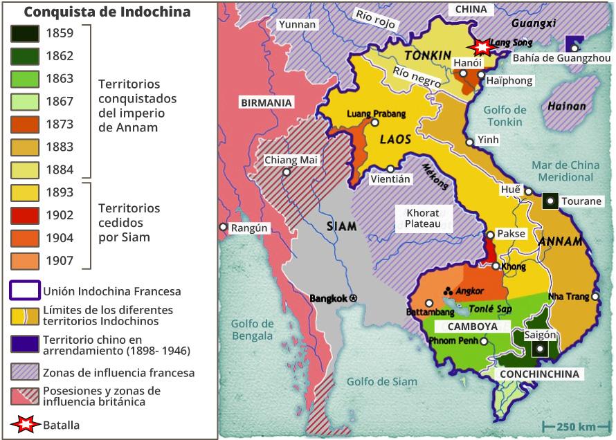 Conquista de Indochina