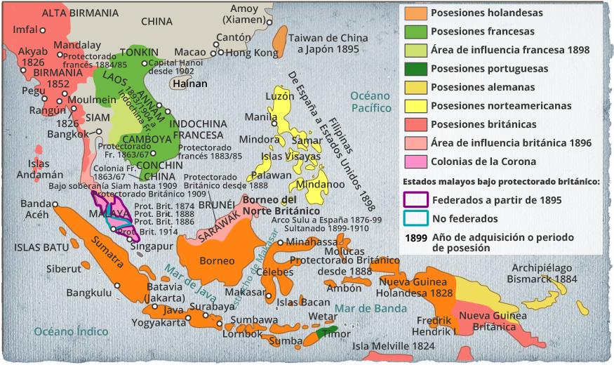 Colonización de Indonesia