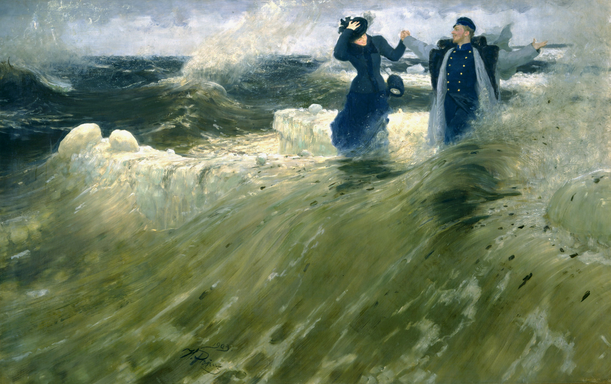 ¡Qué Libertad!, Ilya Repin, 1903. Museo ruso de San Petersburgo.