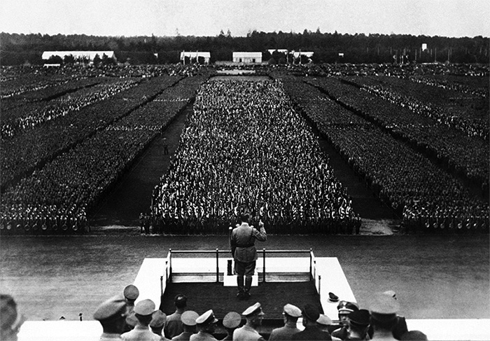 Mitin de Hitler en Nüremberg