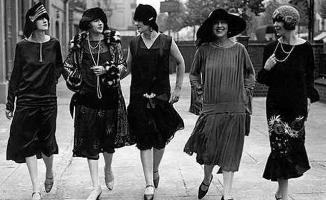 Mujeres estadounidenses en la década de 1920