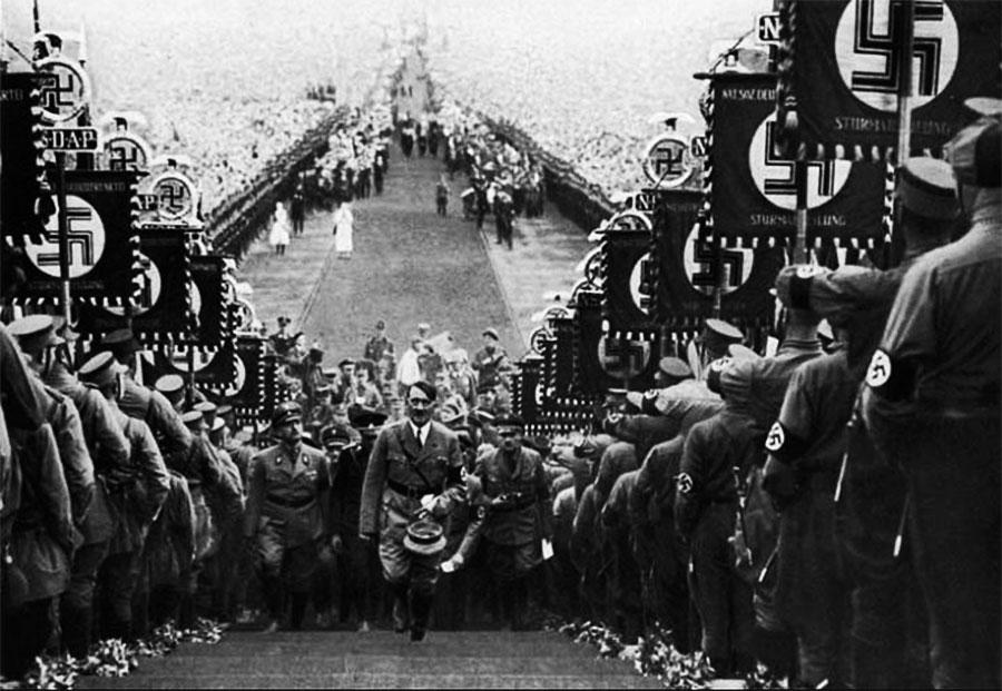 Hitler en Nüremberg, 1934