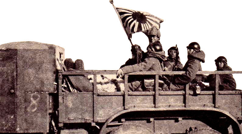 Tropas japonesas en Manchuria, 1931