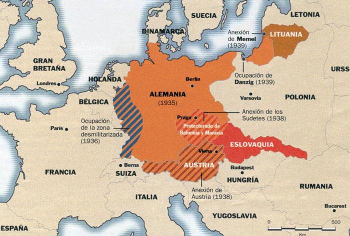 expansión nazi
