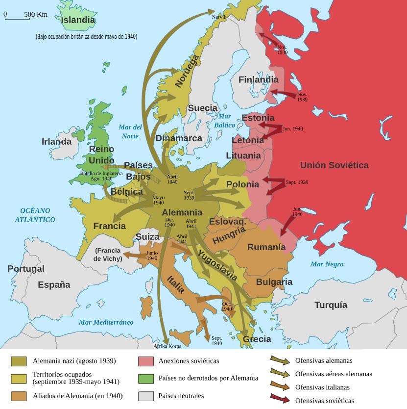 alemania nazi mapa