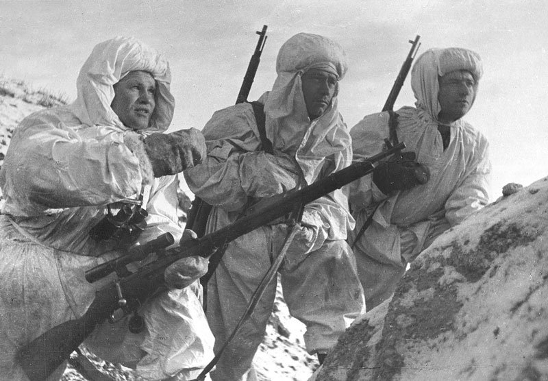 Francotiradores rusos
