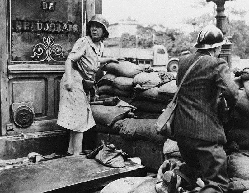 Civiles durante la Segunda Guerra Mundial