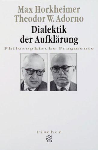 Portada del libro Dialéctica de la Ilustración de Horkheimer y Adorno
