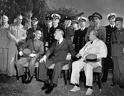 Conferencias del Cairo 1943