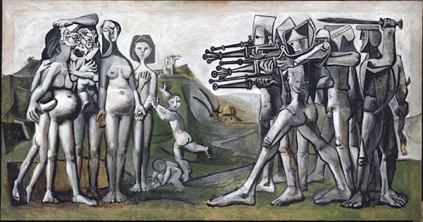 Pablo Picasso, Masacre en Corea, 1951.