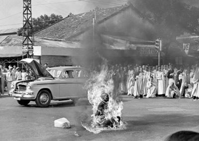 Inmolación del monje budista Quang Duc