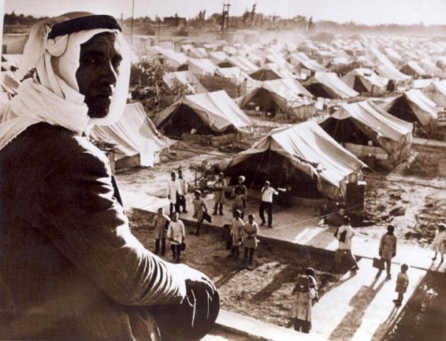 Refugiados palestinos, 1948
