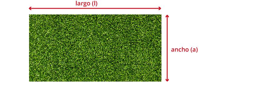Terreno rectangular