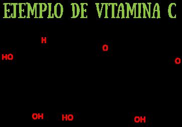 Ejemplo Vitamina C